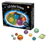 3D Solar System - Glow in Dark