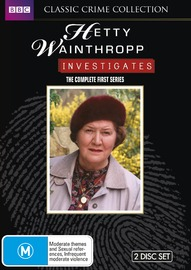 Hetty Wainthropp Investigates - The Complete First Series on DVD