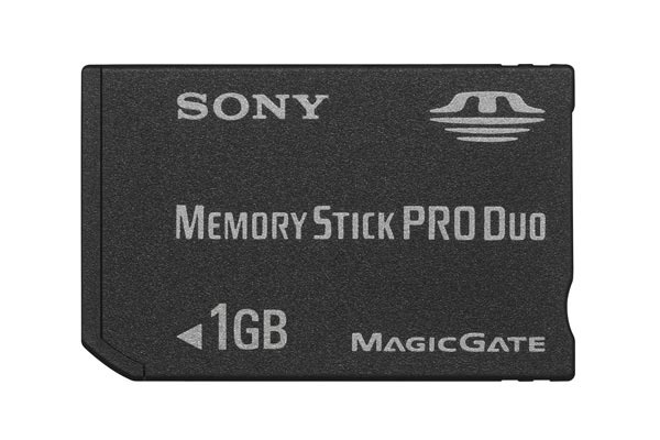 Sony Memory Stick PRO DUO 1GB  MSXM1GS