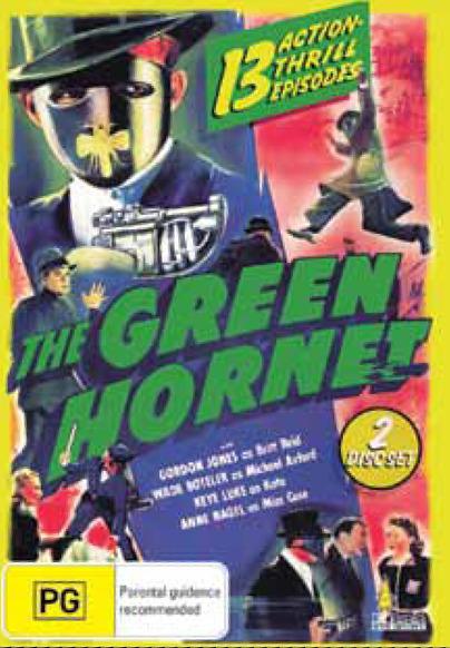 The Green Hornet (2 Disc Set) DVD