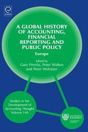 Global History of Accounting, Financial Reporting and Public Policy