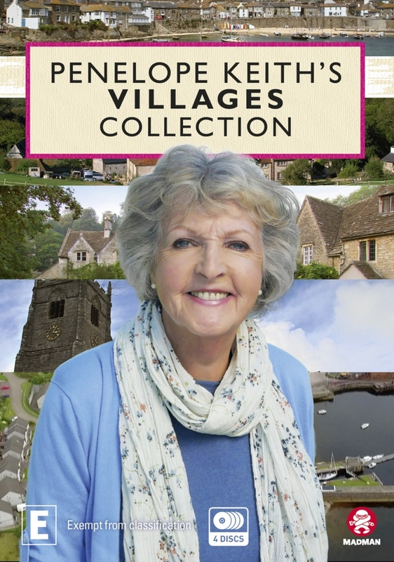 Penelope Keith's Villages Collection on DVD