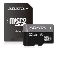 32GB ADATA Premier microSDHC UHS-I Card with Adapter