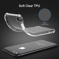 Soft Transparent Clear Crystal Case for iPhone 7 Plus / iPhone 8 Plus
