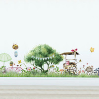 Magical Village Wall Decal - Bugs Life