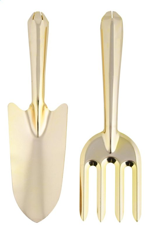 Garden Tools - Golden (Set of 2)