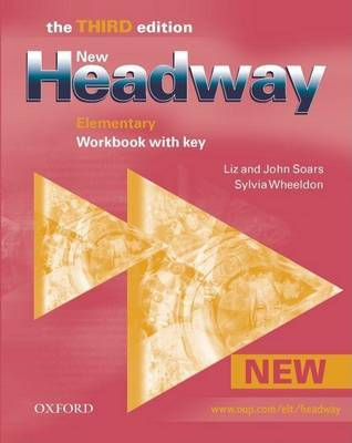 New Headway: Elementary Third Edition: Workbook (With Key) by Liz Soars image