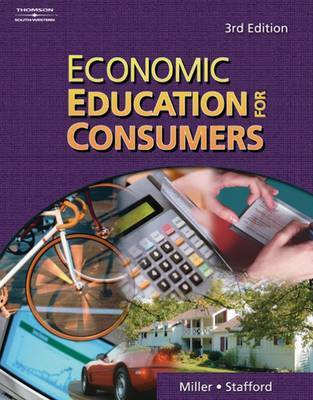 Economic Education for Consumers by Roger Miller image