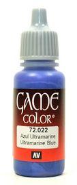 Vallejo Game Colour Ultramarine Blue 17ml