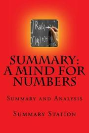 A Mind for Numbers: Summary and Analysis of a Mind for Numbers: How to Excel at Math and Science by Barbara Oakley by Summary Station
