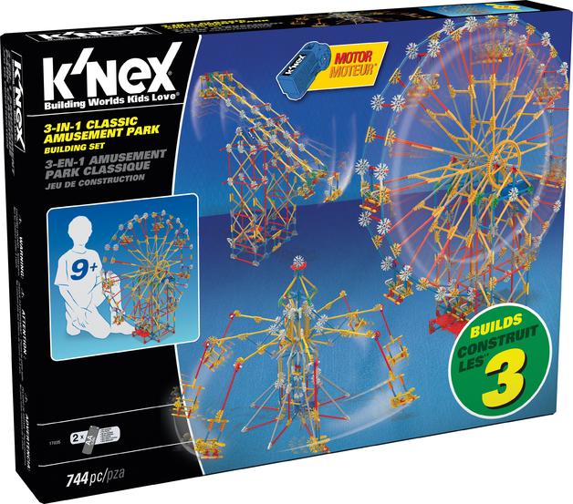 K'Nex: Thrill Rides 3-in-1 Amusement Park