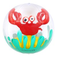 Sunnylife 3D Inflatable Beach Ball - Crabby