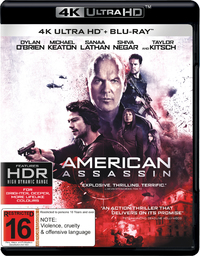 American Assassin (4K Blu-ray + Blu-ray) on UHD Blu-ray