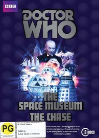 Doctor Who: The Space Museum/The Chase on DVD