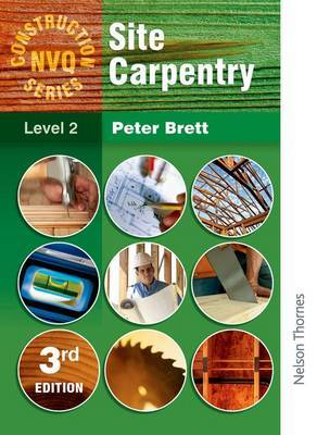 Construction NVQ Series Level 2 Site Carpentry by Peter Brett image