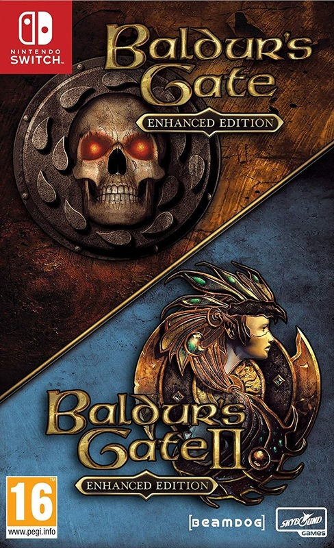 Baldur's Gate Enhanced Edition for Switch