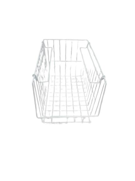 L.T. Williams - Narrow Stacker Basket (White)