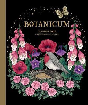 Botanicum Coloring Book by Maria Trolle