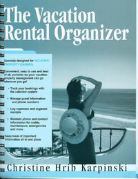 Vacation Rental Organizer by Christine Hrib Karpinski image