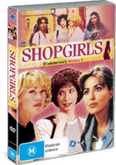 Shopgirls - Series 1 (3 Disc Set) on DVD