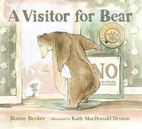 Visitor for Bear by Bonny Becker image