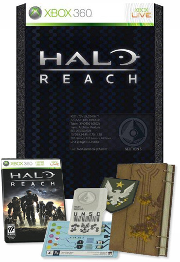 Halo: Reach Limited Edition for X360