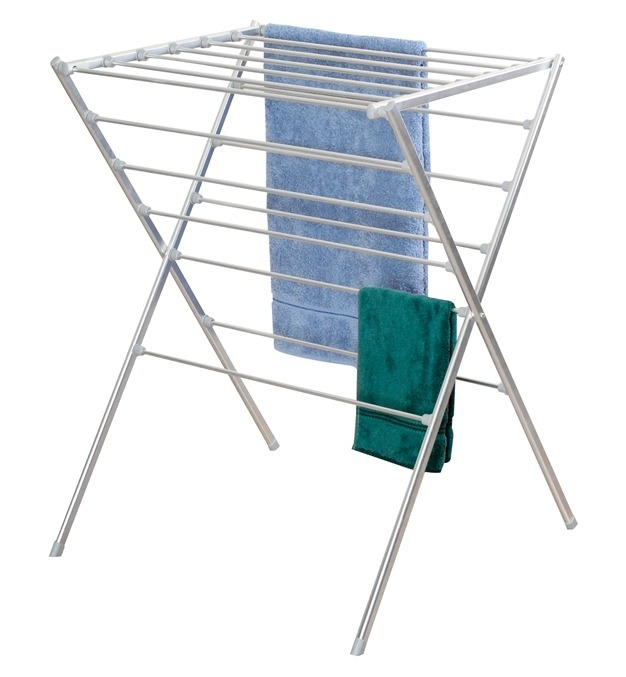 L.T. Williams - Aluminum Knock Down Clothes Rack- 16 Rail
