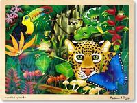 Melissa & Doug: Rainforest Jigsaw Puzzle - 48 Pcs