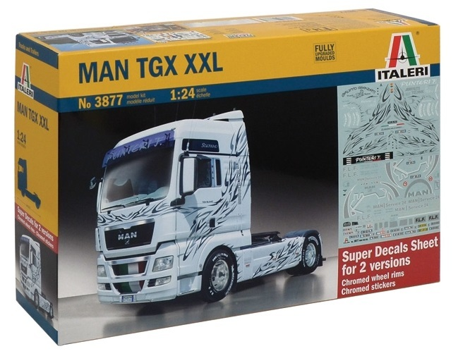 Italeri: 1/24 MAN TGX XXL - Model Kit image