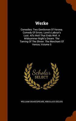 Werke by William Shakespeare