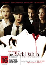 The Black Dahlia on DVD
