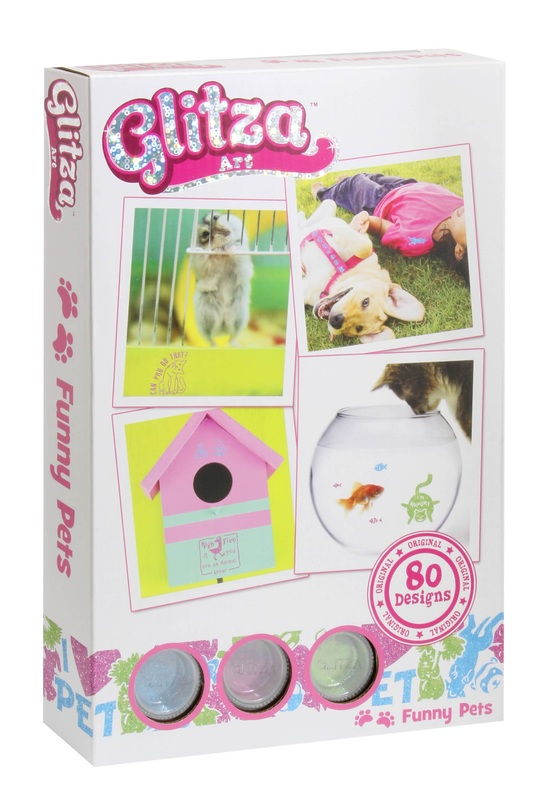 Glitza: Transfer Art - Funny Pets