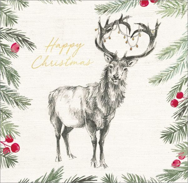 Art Marketing: Boxed Christmas Cards - Happy Christmas image