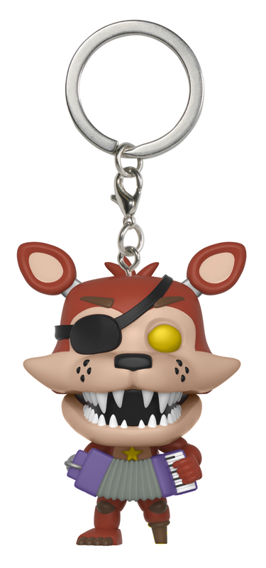 Five Nights at Freddy's: Pizza Simulator - Rockstar Foxy Pocket Pop! Keychain