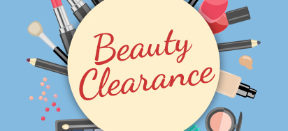 Up to 50% off Makeup & Accessories!