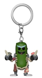 Rick & Morty - Pickle Rick (Rat Suit) Pocket Pop! Keychain