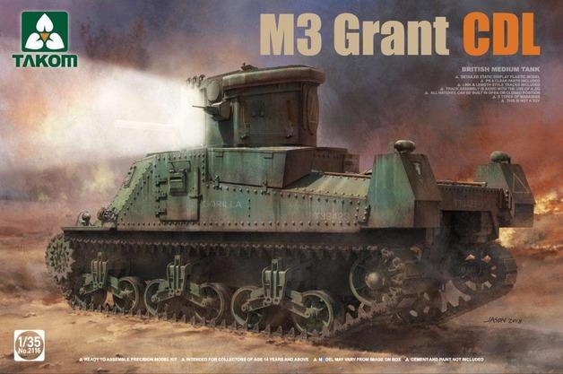Takom 1/35 M3 Grant CDL - Model Kit