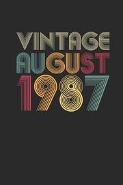 Vintage August 1987 by Vintage Publishing image