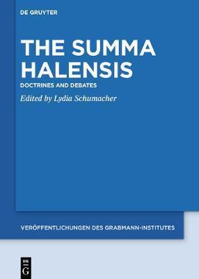 The Summa Halensis