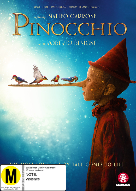 Pinocchio on DVD