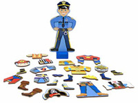 Melissa & Doug: Joey Magnetic Wooden Dress-Up Set image