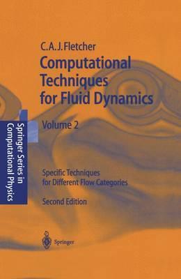 Computational Techniques for Fluid Dynamics 2 by Clive A.J. Fletcher image