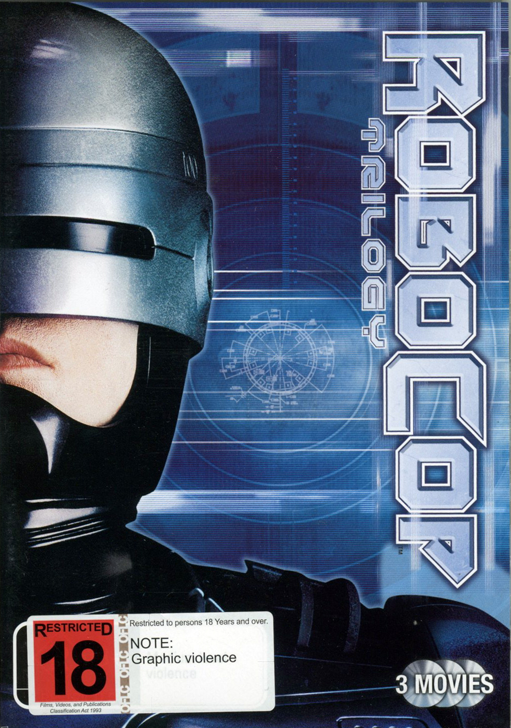 Robocop / Robocop 2 / Robocop 3 (3 Disc Set) on DVD image