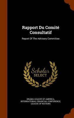 Rapport Du Comite Consultatif image