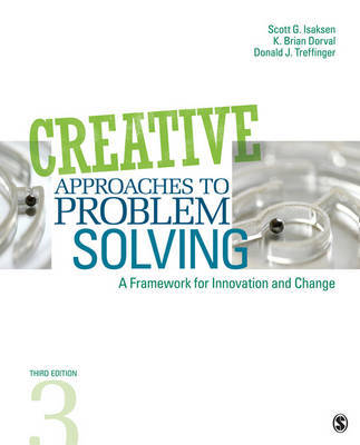 Creative Approaches to Problem Solving by Scott G Isaksen image