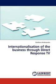 Internationalisation of the Business Through Direct Response TV by Andonovska Gordana