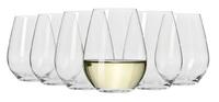 Krosno - Flair Stemless White Wine 420ml (Set of 6)