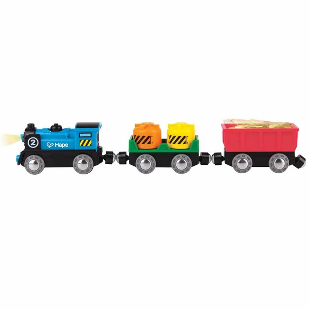 Hape: Battery Powered Rolling Stock Set
