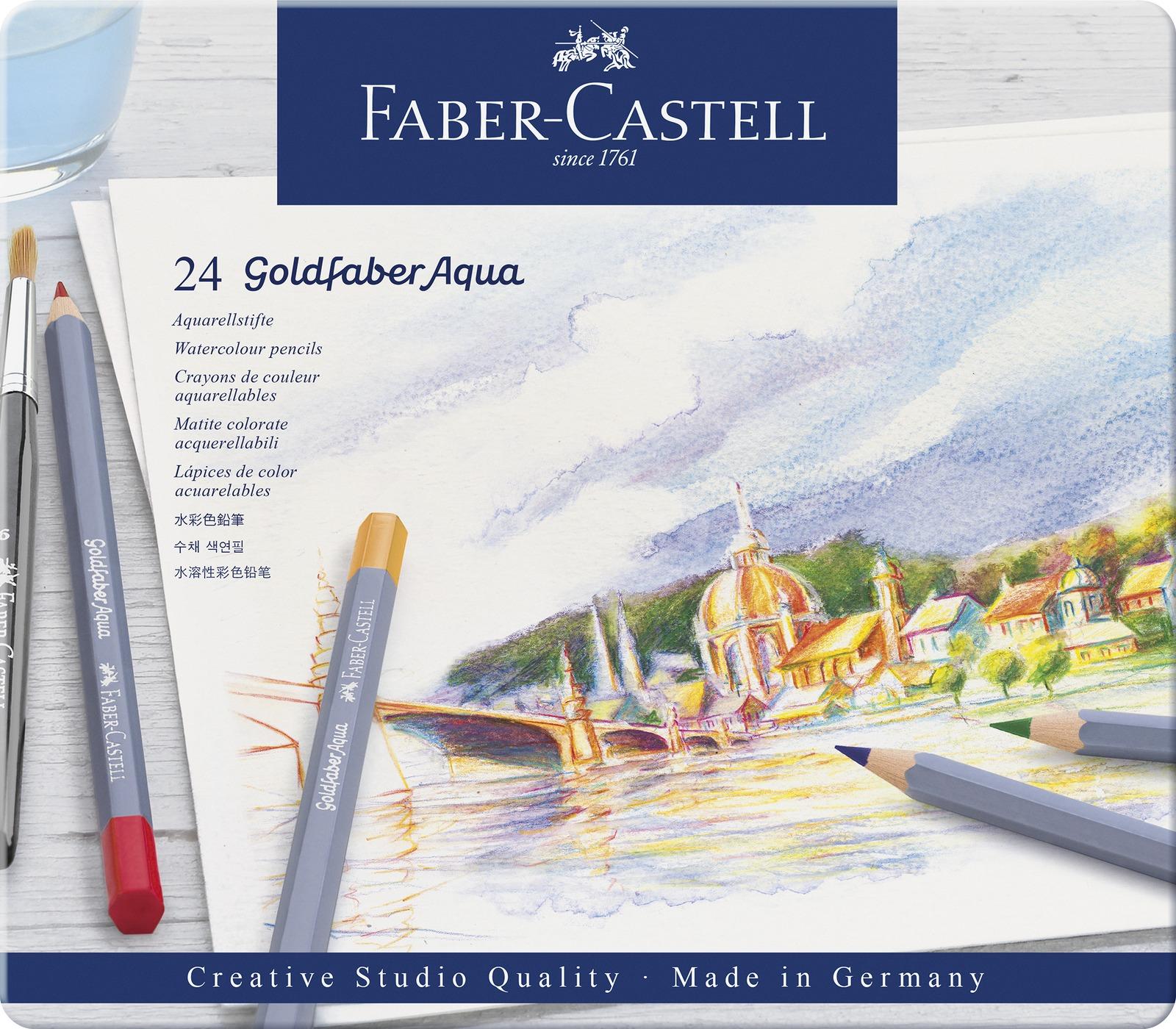 Faber-Castell: Goldfaber Aqua (Tin of 24) image