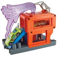 Hot Wheels: Downtown City - Super Fuel Stop Playset